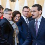 Spotkanie premiera z wojewodami. Tematem odprawy jest epidemia koronawirusa w Europie