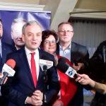 Kandydat Lewicy na prezydenta na Mazurach. Robert Biedroń odwiedził Ełk i Mrągowo