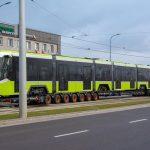Pierwszy tramwaj dotarł już do Olsztyna. Transport trwał dwa tygodnie