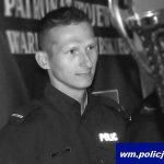 """""""Odszedł na wieczną służbę"""". Policjanci z Olsztyna żegnają sierżanta Pawła Wyszczelskiego. Zmarł nagle w wieku 31 lat"""