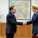Kobieta pokieruje Wyższą Szkołą Policji w Szczytnie. Nowa komendant-rektor pracowała w Komendzie Głównej i wykładała w Legionowie