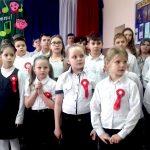 Uczniowie z Okartowa na Mazurach w ogólnopolskim konkursie hymnów i pieśni patriotycznych