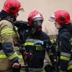 Pożar domu w powiecie działdowskim. Jedna osoba trafiła do szpitala