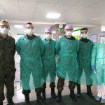 """Żołnierze WOT wspierają elbląski szpital. """"Zostaniemy tak długo, jak będzie trzeba"""""""