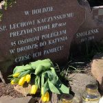 Mieszkańcy Elbląga oddali hołd ofiarom katastrofy smoleńskiej