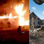 Siedem osób straciło dach nad głową w pożarze budynku we wsi Elganowo koło Pasymia