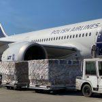 Do Polski dotarł transport środków medycznych i respiratorów z Chin. Jutro przyleci kolejny samolot