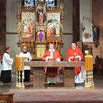 Niedziela Palmowa. Zobacz transmisję Mszy świętej z konkatedry św. Jakuba w Olsztynie