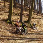 Nielegalne rajdy w lesie koło Elbląga. Motocykliści zostali ukarani najwyższą grzywną