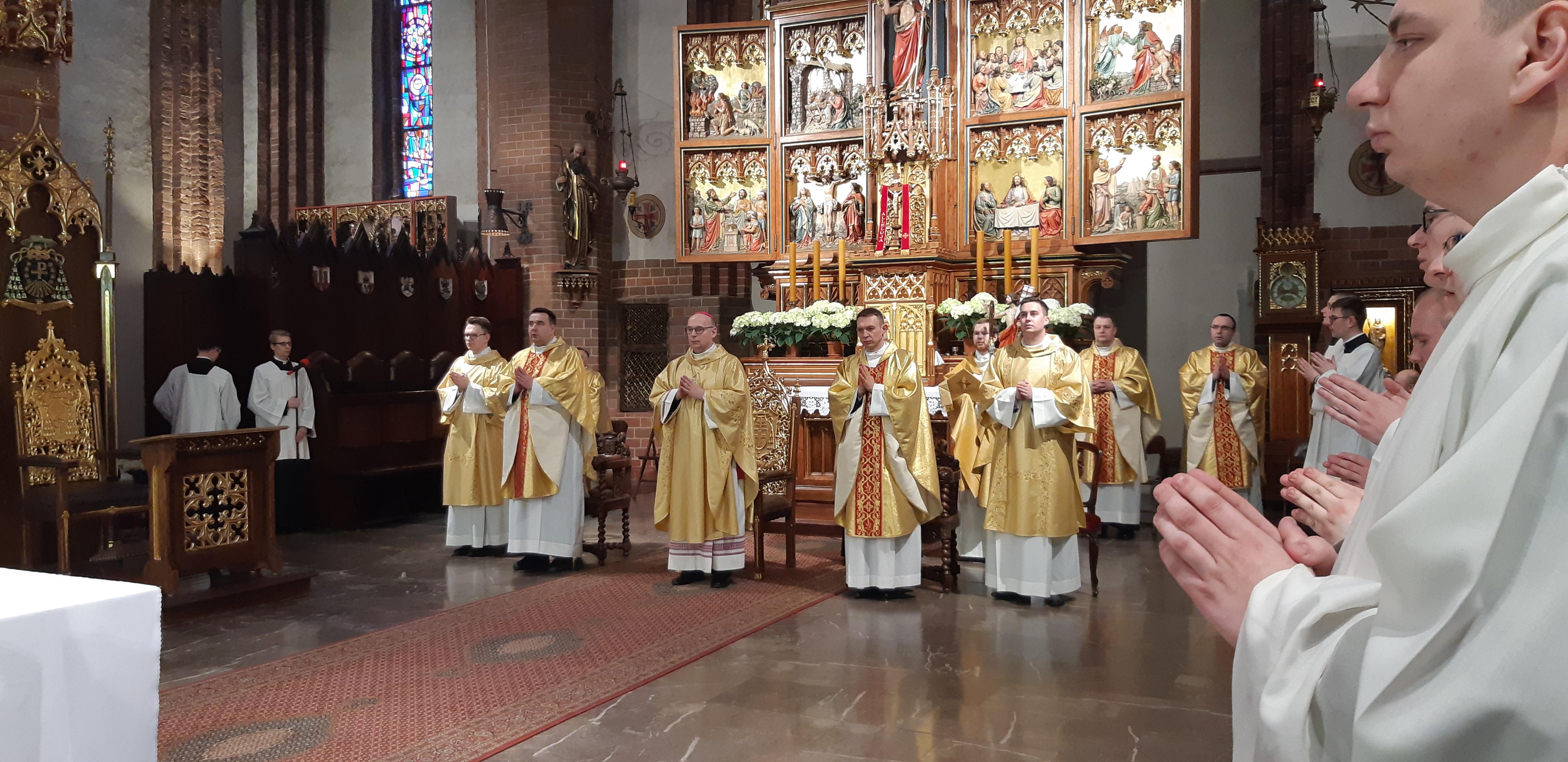 święcenia, diakonat, alumni, katedra św. Jakuba