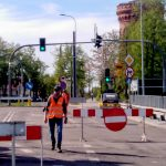 Zamknięto wiadukt w centrum Olsztyna. Część autobusów jeździ zmienioną trasą