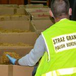 Strażnicy graniczni z Warmii i Mazur zlikwidowali nielegalną hurtownię tytoniu w Lubuskiem