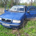 Uszkodzonym autem uciekał przed policją w Olsztynku