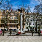 Przedstawiciele władz upamiętnili 75. rocznicę zakończenia II wojny światowej
