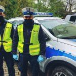Policyjna eskorta na porodówkę. Rodząca mieszkanka Szczytna bezpiecznie dojechała do szpitala w Olsztynie