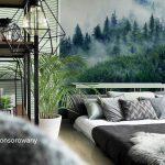 Leśna fototapeta – cztery pomysły na malowniczy pejzaż w wystroju
