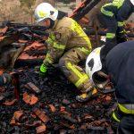 Dwie osoby zginęły w dwóch nocnych pożarach na Warmii i Mazurach