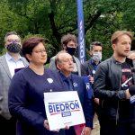 """Lewica wspiera swojego kandydata i proponuje """"inwestycje Biedronia"""""""