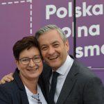 """Kampania na ostatniej prostej. Monika Falej przekonuje """"Biedroń to jedyny lewicowy kandydat twardo stojący na nogach"""""""