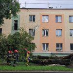 Nad Warmią i Mazurami przechodzą burze. Strażacy interweniowali już ponad 70 razy