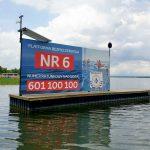 Pływające platformy znikają z Wielkich Jezior Mazurskich. Sprawą zajmie się Ministerstwo Sportu