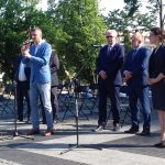 """Minister edukacji spotkał się z mieszkańcami Olecka. """"Kształcenie na odległość funkcjonuje"""""""