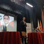Dariusz Piontkowski w Bartoszycach przekonywał do głosowania na Andrzeja Dudę i dziękował nauczycielom