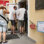 W Elblągu i Olsztynie głosowanie odbywa się bez zakłóceń