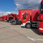 Strażacy z misją na Białorusi. To największa akcja humanitarna w historii grupy ratowniczej z Warmii i Mazur