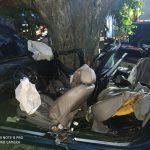 Tragiczny wypadek koło Łukty. Nie żyją dwie osoby