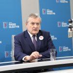 Wicepremier Piotr Gliński: Liczymy na wygraną Andrzeja Dudy w pierwszej turze
