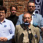 """Działacze Lewicy podsumowali kampanię wyborczą. """"Biedroń jest jedynym kandydatem z sercem na dłoni"""""""