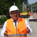 """Minister infrastruktury Andrzej Adamczyk w Olsztynie i Szczytnie. """"Powstają nowe przystanki kolejowe, a polskie dworce pięknieją"""""""