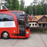 Leśnicy w Kudypach zachęcali dziś do oddawania krwi. Do akcji będzie można przyłączyć się także m.in w Olsztynie i Szczytnie
