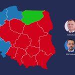 Andrzej Duda wygrywa na Warmii i Mazurach. Trzaskowski lepszy w czterech województwach