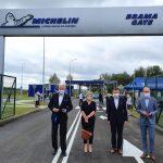 Fabryka Michelin połączona z obwodnicą. Dzięki temu kilka tysięcy mniej ciężarówek będzie wjeżdżało do Olsztyna