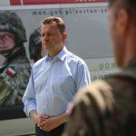 Minister Mariusz Błaszczak w Giżycku. Obejrzyj wystąpienie