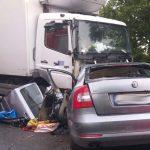 Policja wyjaśnia okoliczności tragicznego wypadku koło Kozłowa