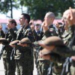 Nowi terytorialsi w warmińsko-mazurskiej brygadzie. To pierwsza przysięga od wybuchu pandemii
