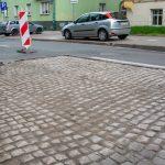 Ulica Mickiewicza w Olsztynie z kostką brukową? Trwają prace