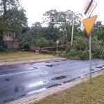 Potężna ulewa w Olsztynie i okolicach. Strażacy interweniowali prawie 30 razy
