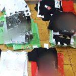 Sprzedawali podrobione ubrania i perfumy. Para obcokrajowców usłyszała zarzuty