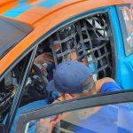 Zbigniew Staniszewski trenuje przed Mistrzostwami Polski w Rallycrossie