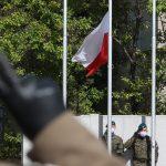 Wojewódzkie obchody Święta Wojska Polskiego w Olsztynie. Uroczystości były skromniejsze, niż zazwyczaj