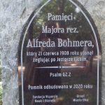 W Ełku odbudowano pomnik Alfreda Böhmera, znanego fotografika z przełomu XIX i XX wieku