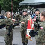 Studenci wypowiedzieli słowa roty wojskowej
