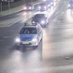 Policyjna eskorta ulicami Olsztyna. Funkcjonariusze pomogli choremu dziecku dotrzeć do szpitala [WIDEO]