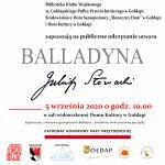 Gołdap zaprasza na Narodowe Czytanie