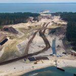 Na Mierzei Wiślanej trwa budowa drogi wodnej łączącej Zalew Wiślany z Zatoką Gdańską