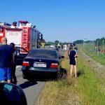Dwie osoby ranne w wypadku na S7 koło Pasłęka. Kierowcy jadący w kierunku Gdańska czekali w długich korkach